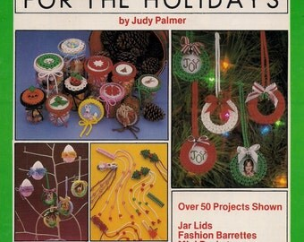 Vintage Knots of Fun for the Holidays - Macrame Book - Patterns & Instructions