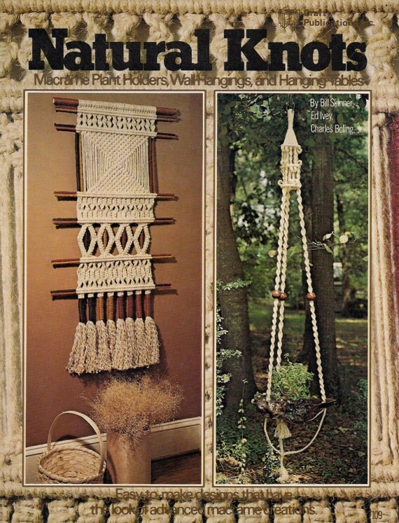 macrame plant hanger pattern books knots macrame book plant hangers more patterns 5162
