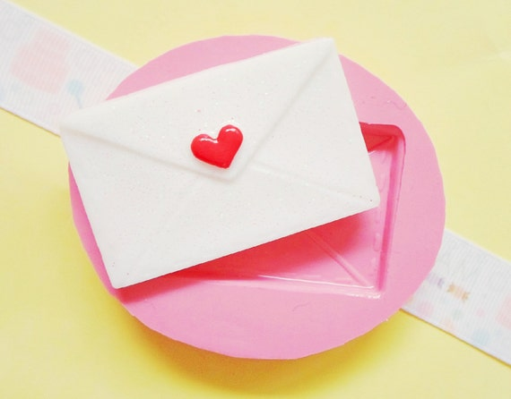 Items Similar To 38mm Love Letter Flexible Silicone Mold