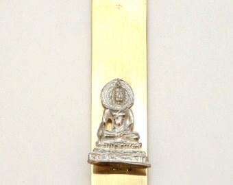 Buddha Letter Opener (paper knife), Handmade, Gift Boxed (m)