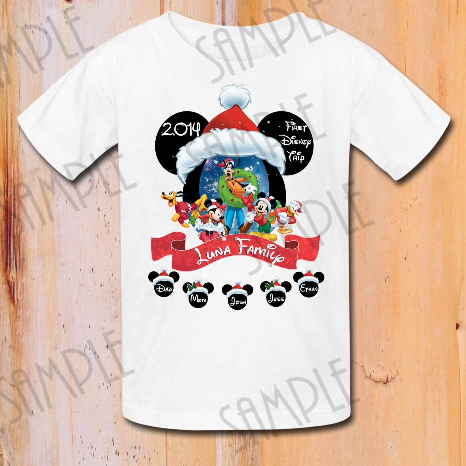 Disney family vacation shirts t shirt disney mickey merry for Custom t shirts family vacation