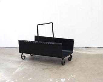 Steel Log Carrier / Hearth