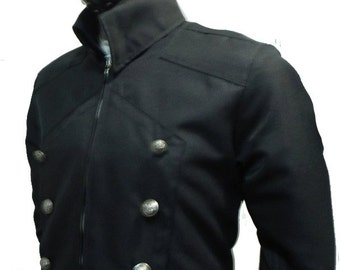 Steampunk Long jacket trench coat