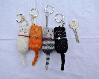 Fat Cat Keyring