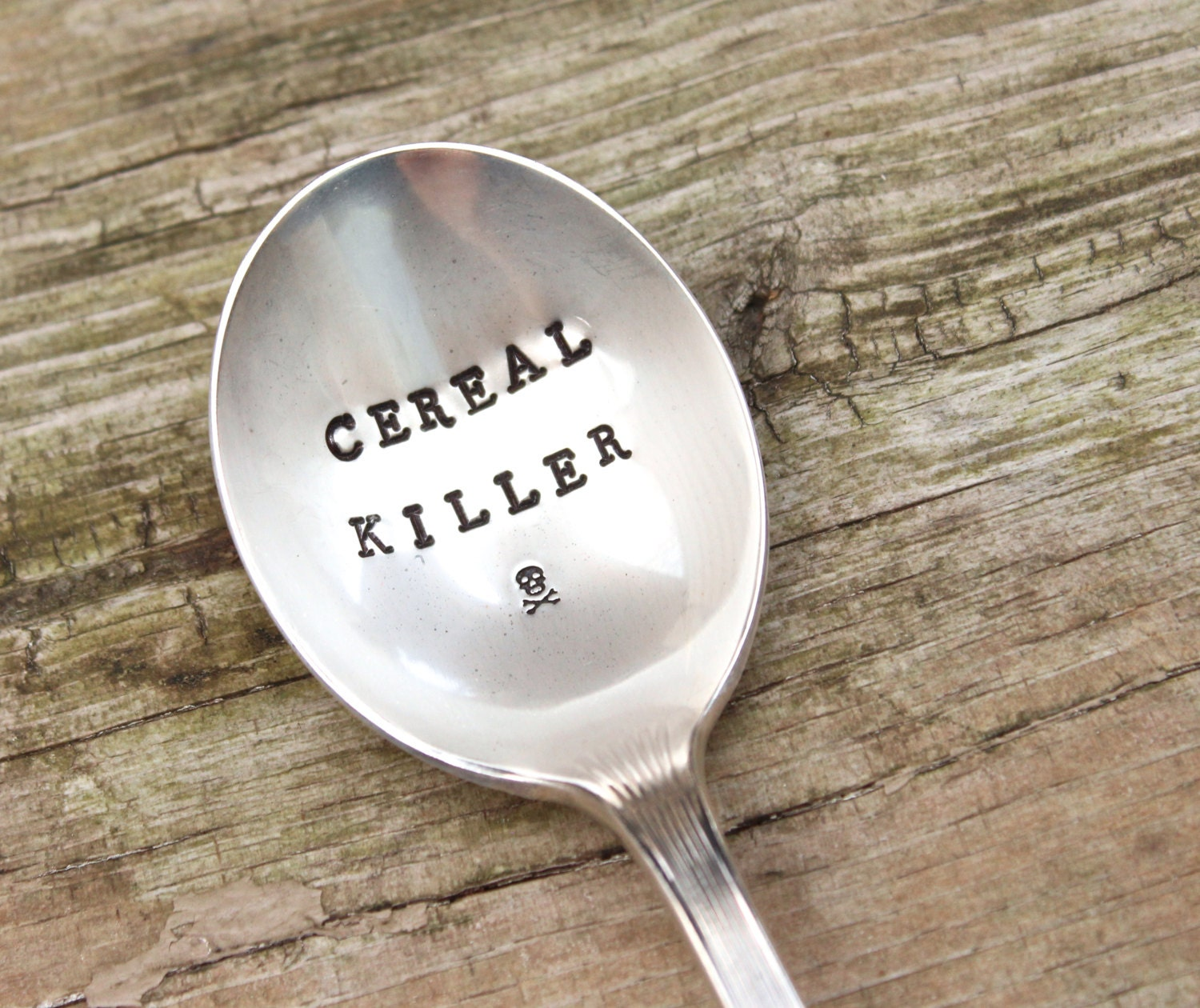 Cereal Killer Spoon Skull