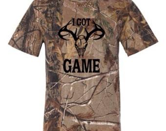 I Got Game Camo T-Shirt