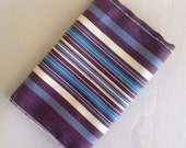 Multi Color Purple Blue Woven Stripe Pirate Costume Sash for Men Women or Kids