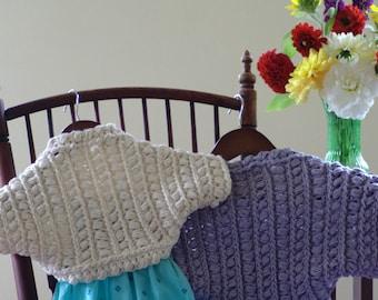 Crochet Pattern Child Shrug Pattern Toddler Bolero Pattern Toddler Shrug Pattern Child Bolero Pattern DIY Crochet Shrug - Soft Aster P187