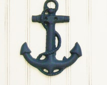Unique nautical wall decor related items etsy for Anchor decoration runescape