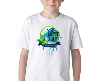 Kid's Earth Day Protect the Earth T-Shirt Recycle Planet Environment Eco Tee