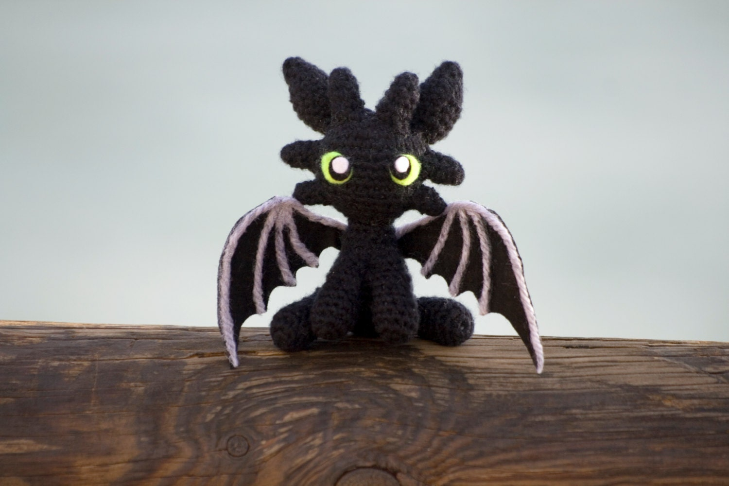 Amigurumi How To Train Your Dragon : Toothless Amigurumi Toothless Doll Toothless plush