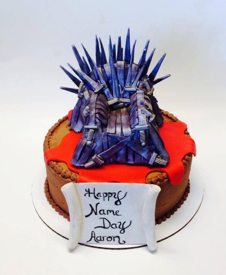 Game Of Thrones Edible Iron Throne Cake Topper