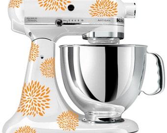 Kitchen Mixer Floral II decals