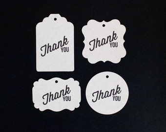 15 Thank you tags - Choose your style