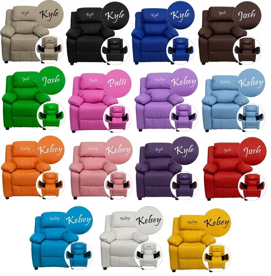kids Size personalized bean bag chairs embroidered chairs – Personalized Bag Chairs