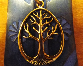 Tree of Life Pendant Handmade Copper Necklace Jewelry