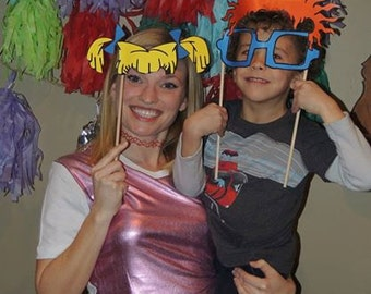 90s Photo Booth Party Props- Perfect for the ultimate 90s party. Rugrats ONLY- Digital Copy