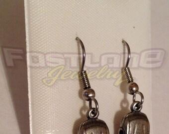 SALE!!!- Stock Car Racecar Earrings- Racing Jewelry by Fastlane Jewelry