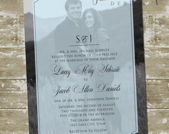 Lacey Wedding Invitation