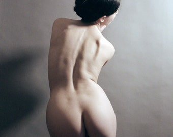 Classical Curves // Artistic Nude // 8x10 signed print // Self Portrait Photography