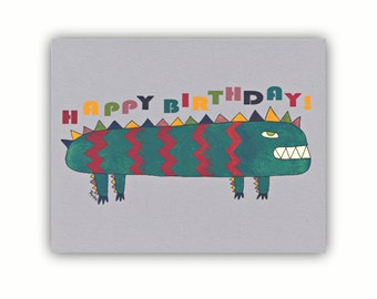 Funny birthday cards for kids boys