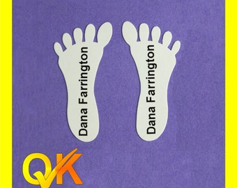 Childrens Freaky Feet Shoe Labels