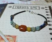 Creativity, Communication, Chakra, Yoga Bracelet, Chakra Bracelet, Yoga Jewelry, Meditation Beads,  Christmas Gifts, Stocking Stuffers