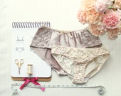 Woven Panties Sewing Pattern PDF Pack Ohhh Lulu Grace and Jane Vintage Style Knickers