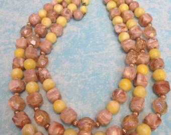 Vintage Multistrand Coro Necklace