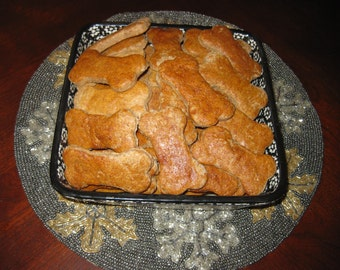 Precey's Milkbone Dog Biscuits - All Natural and Homemade