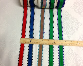 """French Vintage Picot Ribbon Made in France  Pattern Changeable, 7/8""""  Wide , Sold by the  Roll"""