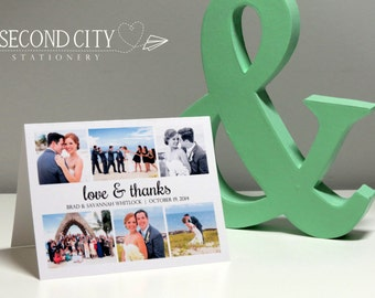 Customizable Newlywed Photo Wedding Thank You Cards,  Bridal Shower,  Wedding Cards