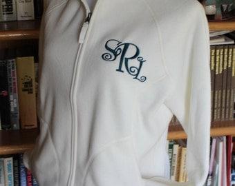 Front Zip Fleece Jacket----