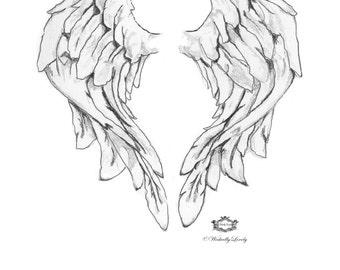 Angel Wings Etsy