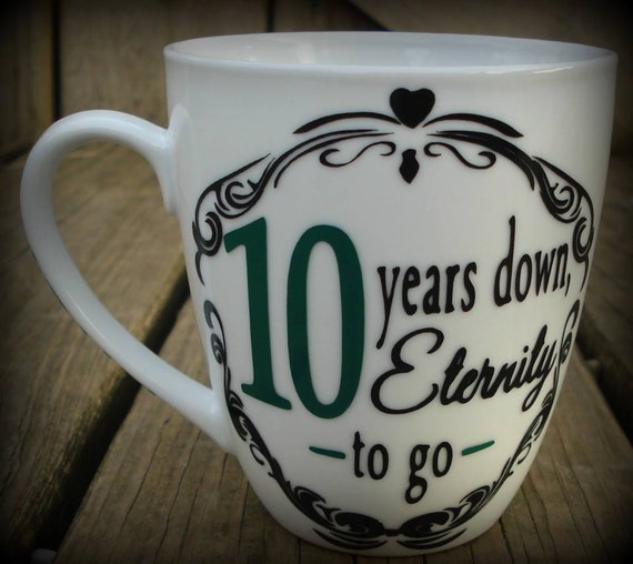 Personalized Wedding Anniversary Mug, Fully Customizable, Beautiful ...