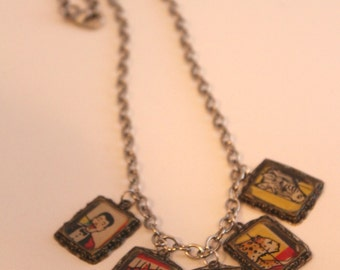 Circus Charm Necklace