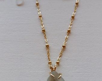 Sea Glass Setting Pendant Necklace | Seaglass Necklace | Sea Glass Pendant | Sea Glass Jewelry | Seaglass Jewelry | Sea Glass Necklace | Sea