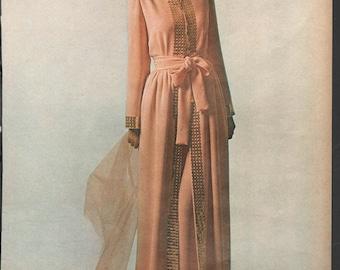 Three original fashion photo/illustrations, Vogue or Harpers Bazaar, 9x12 in - fash647