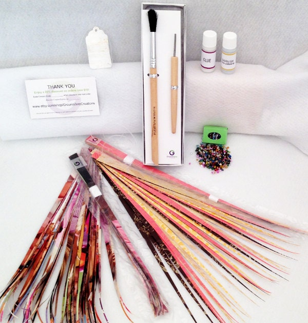 paper bead kit with paper bead roller by groundzerocreations