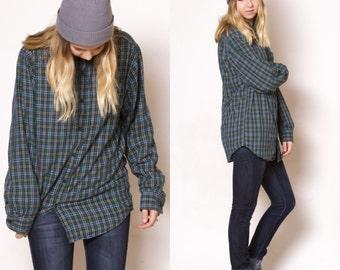Flannel / Vintage 90s Flannel / Vintage Flannel / Size Medium