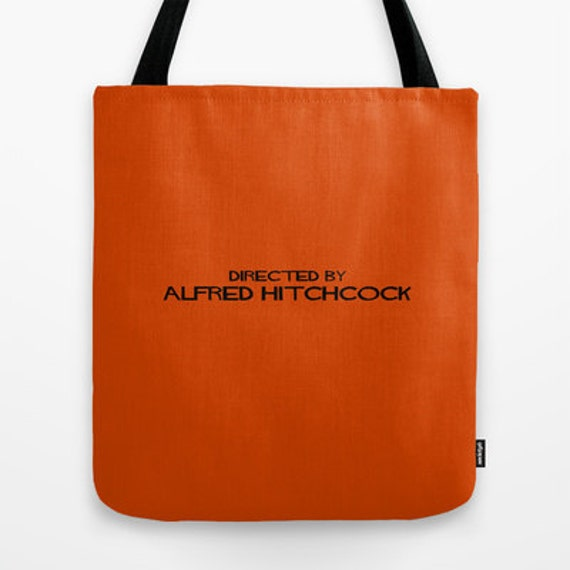 Directed By Alfred Hitchcock Tote Bag