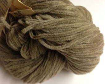 Knit One Crochet Too Velvety Chenille merino wool blend soft worsted weight yarn (841 Fawn Tan)