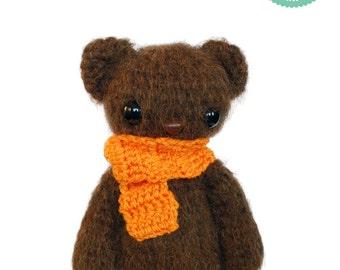 Easy Crochet Pattern - Amigurumi Teddy bear Pattern Amigurumi Cat Plush Pattern
