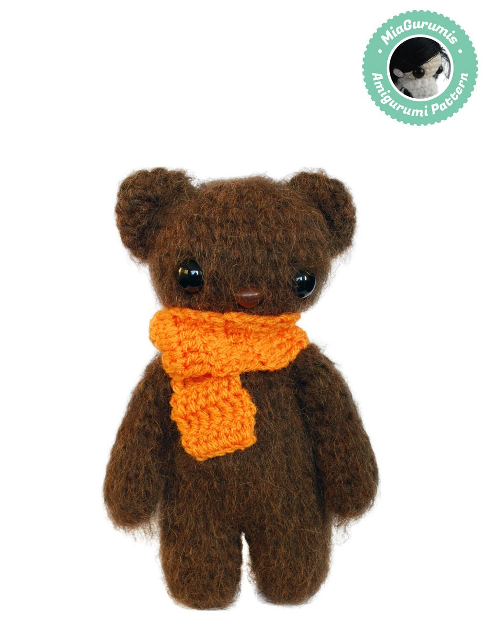 Easy Crochet Pattern Amigurumi Teddy bear Pattern Amigurumi