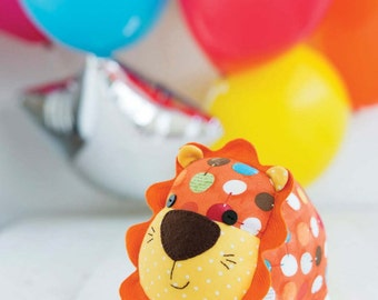 Lion Toy Sewing Pattern Download (803738)