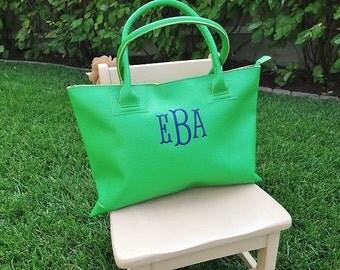 """Shop """"monogram tote"""" in Handbags"""