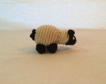 Tiny Knit Sheep