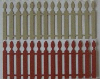 8 Picket Fence Die Cuts