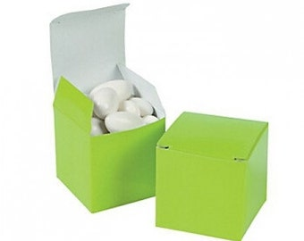 Mini  Favor Boxes/ Many colors to choose.