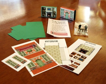 Make your Own Matchbox House Kit